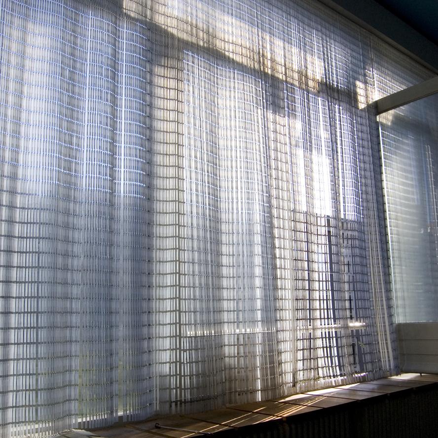Functioneel interieur design vitrage kralengordijn raamdecoratie winoldi - Www curtain design picture ...