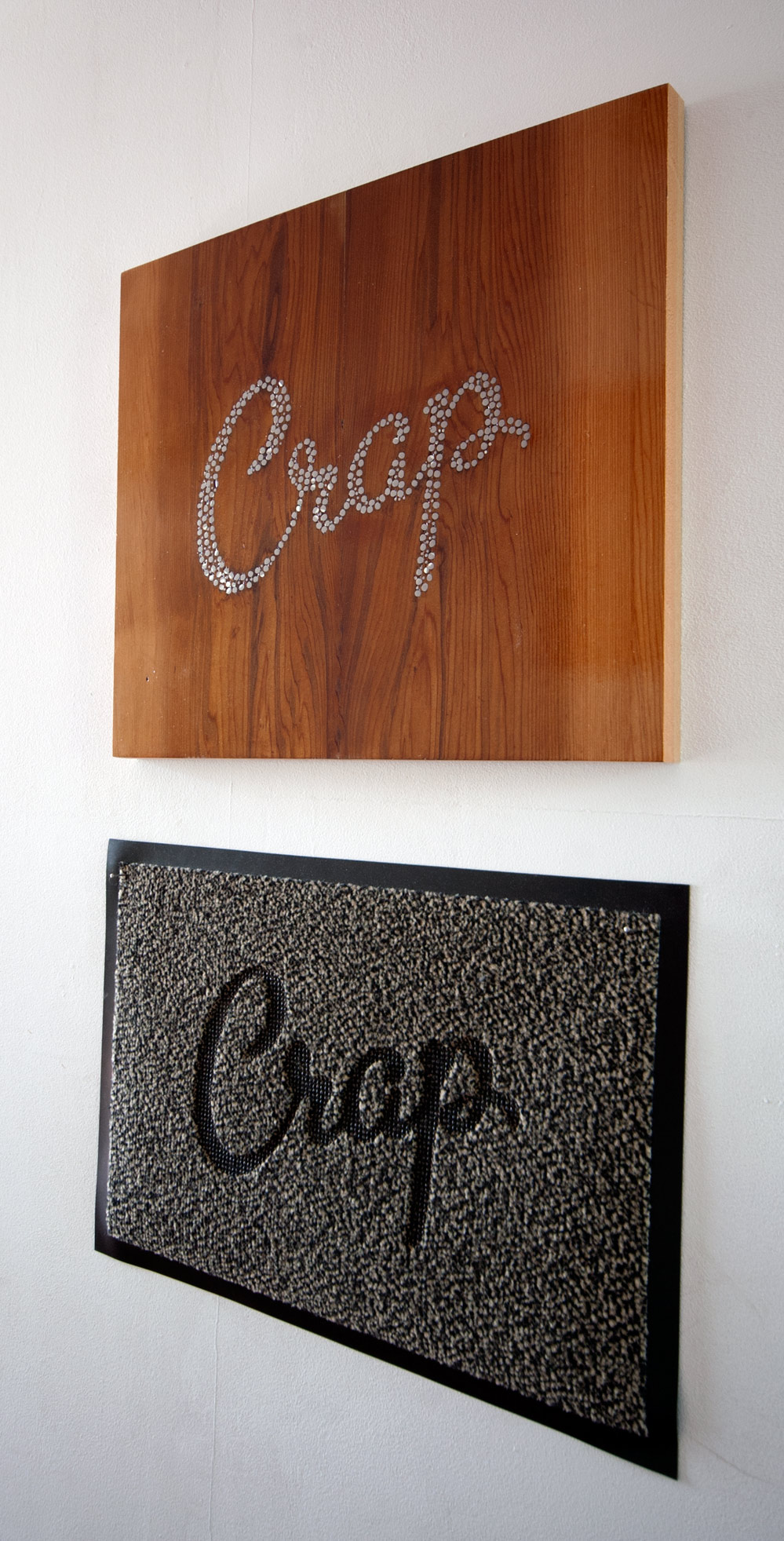 Crap doormat handmade graphics
