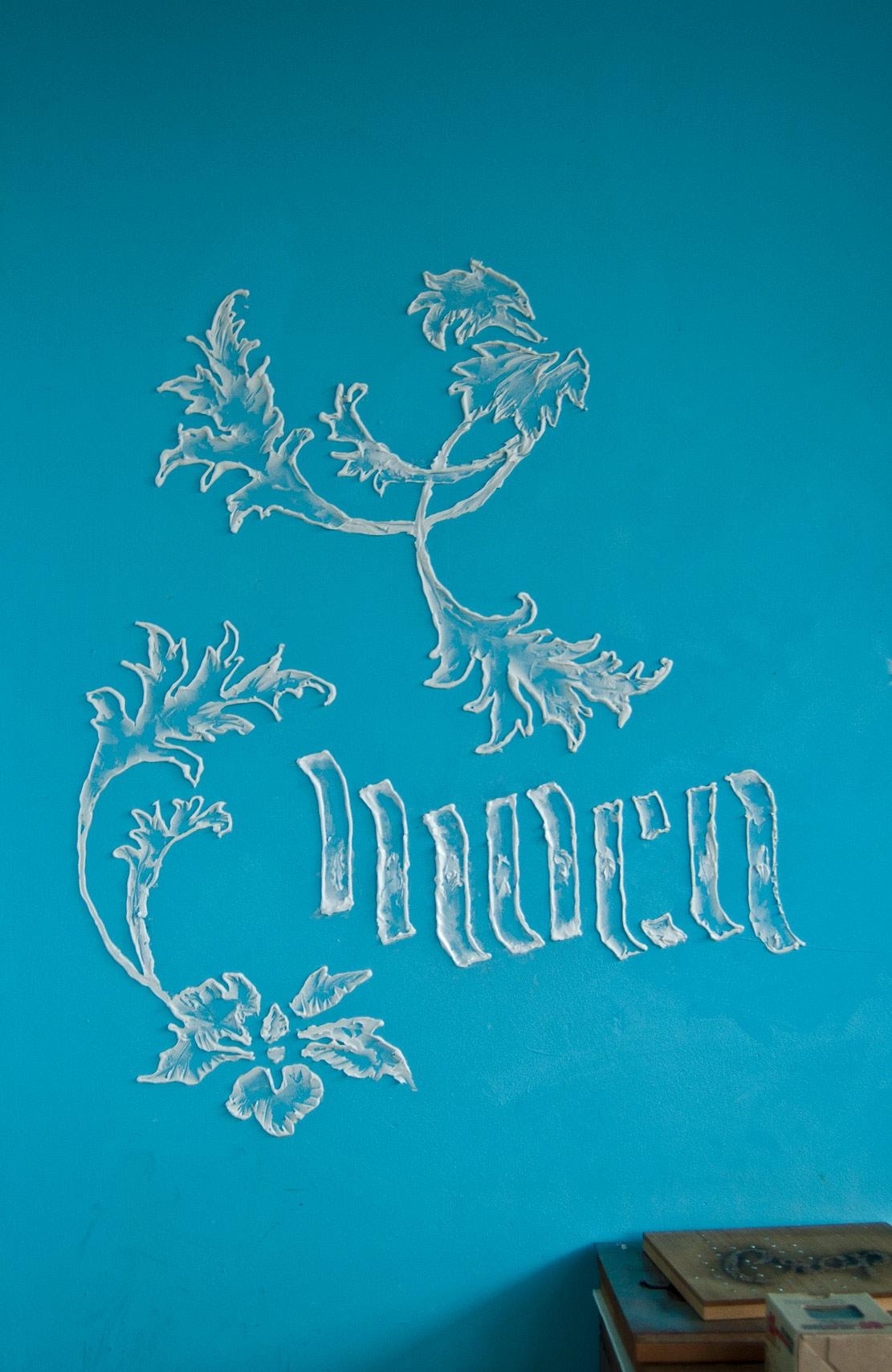 handmade graphics, artwork, acrylic, lettering