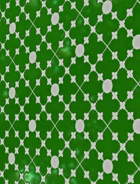 Grout pattern & tile design, feature wall