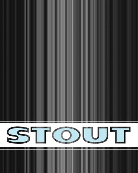 STOUT logo design