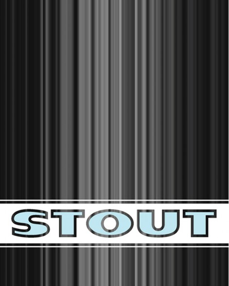 STOUT logo design